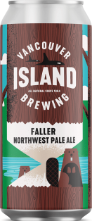 VANCOUVER ISLAND FALLER NORTHWEST PALE ALE 473 ml
