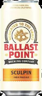 BALLAST POINT BREWING SCULPIN IPA 473 ml