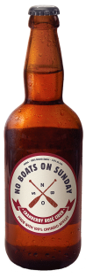BOATS ON SUNDAY CRANBERRY ROSE CIDER 500 ml