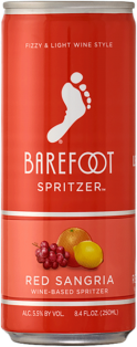 BAREFOOT SPRITZER RED SANGRIA 250 ml