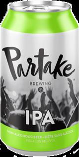 Partake Brewing Non-Alcoholic IPA 355 ml