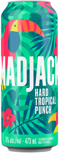 MAD JACK TROPICAL PUNCH 473ML CAN 473 ml
