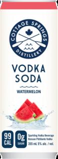 Cottage Springs Vodka Soda - Watermelon 355 ml