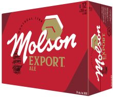 Molson Export Ale 12 x 355 ml