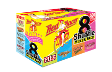 Red Racer Shuffle Mixer Pack 8 x 500 ml