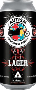 Fort Garry Brewing Autism Awareness Riders Lager 473 ml