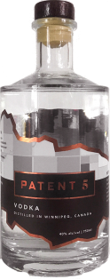 Patent 5 Vodka 750 ml