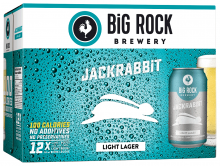 Big Rock - Jack Rabbit Lager 12 x 355 ml
