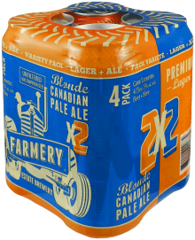 Farmery 2x2 Lager/CPA Variety Pack 4 x 473 ml