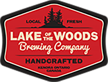 Lake of the Woods Brewing Cabin Fever Pre-Prohibition Cream Ale Growler 1.89 Litre