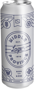 Fort Garry Brewing Middle Province Lager 473 ml