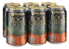 Big Rock Rock Creek Dry Cider 6 x 355 ml