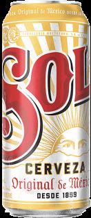 Sol Lager 473 ml