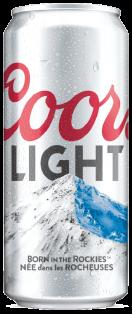 Coors Light 473 ml