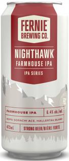Fernie Brewing Nighthawk Farmhouse IPA 473 ml