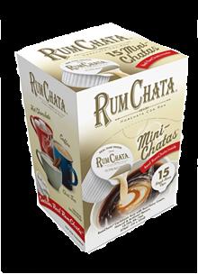RumChata MiniChatas cream liqueur 375 ml