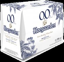 HOEGAARDEN NON-ALCOHOLIC WHEAT BEER 6 x 330 ml