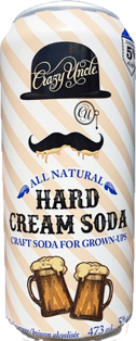 Crazy Uncle - Hard Cream Soda 473 ml