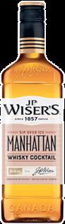 JP WISER'S MANHATTAN CANADIAN WHISKY BEVERAGE 750 ml