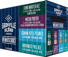 Granville Island Brewery Brewer's Choice Winter Variety Pack 8 x 473 ml