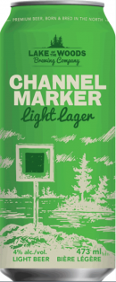 Lake of the Woods Channel Marker Citra Lite Lager 473 ml