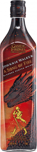 JOHNNIE WALKER GAME OF THRONES A SONG OF FIRE BLENDED SCOTCH WHISKY 750 ml