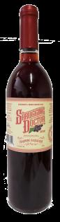 Shrugging Doctor Red Prairie Saskatoon Berry Wine 750 ml