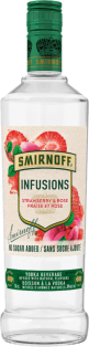 Smirnoff Infusions - Strawberry & Rose 750 ml