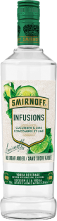Smirnoff Infusions - Cucumber & Lime 750 ml