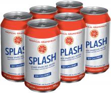 Splash Spiked Sparkling Water- Tropical Grapefruit 6 x 355 ml