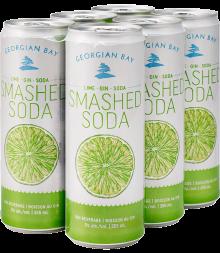 GEORGIAN BAY LIME SMASHED SODA 6 x 355 ml