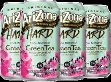 Arizona Green Tea Ginseng 6 x 355 ml