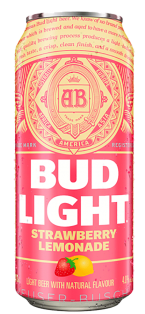 BUD LIGHT STRAWBERRY LEMONADE 473 ml