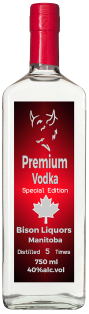 Bison Premium Vodka Special Edition 750 ml