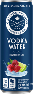 Cottage Springs Raspberry Lime Vodka Water 355 ml