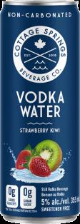 Cottage Springs Strawberry Kiwi Vodka Water 355 ml