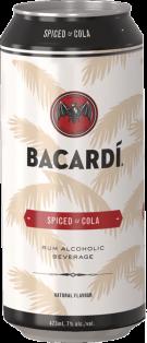 Bacardi Spiced & Cola 473 ml