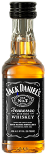 JACK DANIELS OLD NO 7 BRAND TENNESSEE SOUR MASH WHISKEY 50 ml