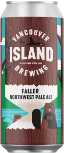 VANCOUVER ISLAND BREWING - FALLER NORTHWEST PALE ALE 473 ml