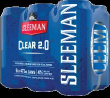 SLEEMAN CLEAR 2.0 6 x 473 ml
