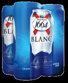 KRONENBOURG 1664 BLANC 4 x 500 ml