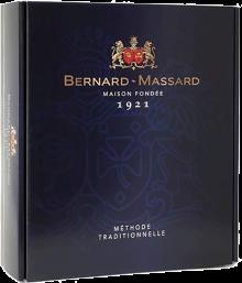 Bernard Massard Cuvee de L'Ecusson Gift Pack with Glasses 750 ml