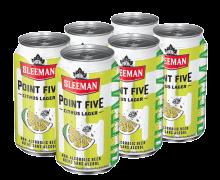SLEEMAN POINT FIVE CITRUS LAGER 6 x 355 ml