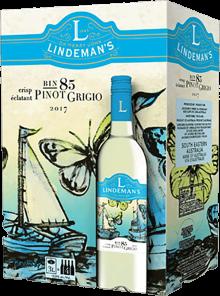 LINDEMAN'S BIN 85 PINOT GRIGIO 3 Litre