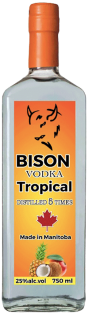Bison Tropical Vodka 750 ml