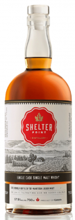 SHELTER POINT SINGLE CASK SINGLE MALT WHISKY 750 ml