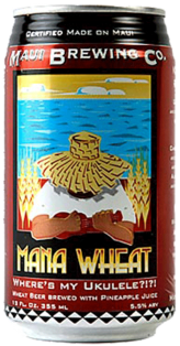 Maui Brewing Mana Pineapple Wheat Ale 355 ml