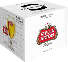 STELLA ARTOIS LAGER 12 x 355 ml