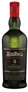 ARDBEG WEE BEASTIE 5 YO ISLAY SINGLE MALT SCOTCH WHISKY 750 ml