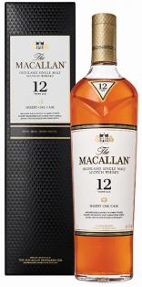 The Macallan 12 YO Sherry Oak Cask Single Malt Scotch Whisky 750 ml
